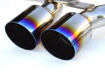 Titanium Tip Cat-back Exhaust