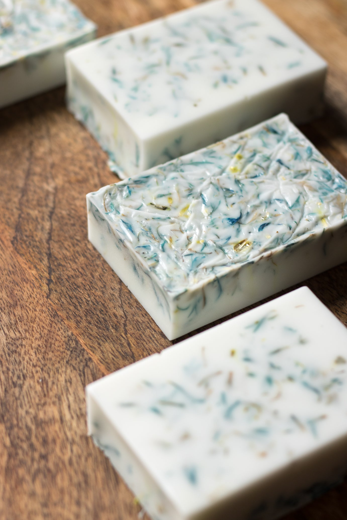 Cornflower Rose Shea Butter Soap