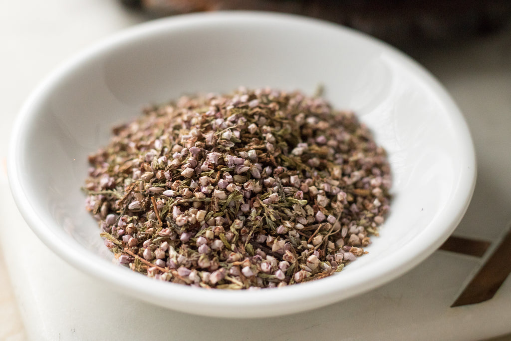 How to Make Heather Flower Tea
