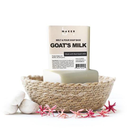Goat's Milk Melt & Pour Soap Base
