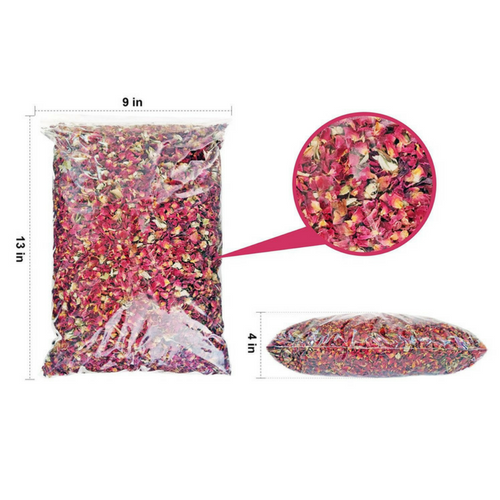 Red Rose Buds & Petals, 1 Lb