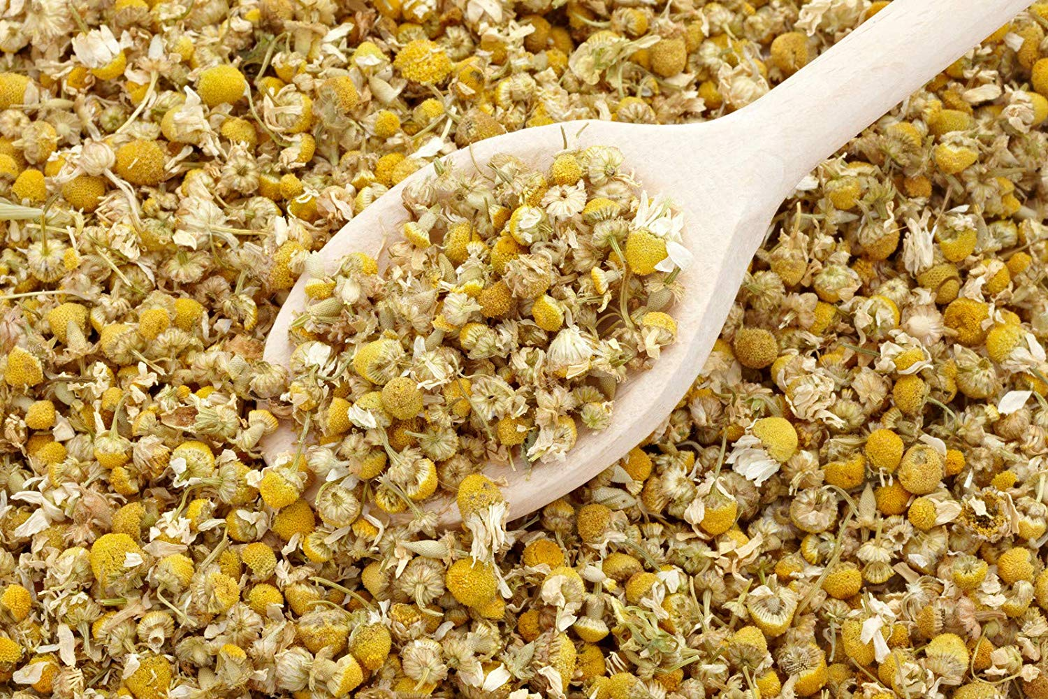 bMAKER Dried Chamomile Flowers 4 oz - Edible and Kosher Certified - Cooking, Tea, Wedding and Crafting