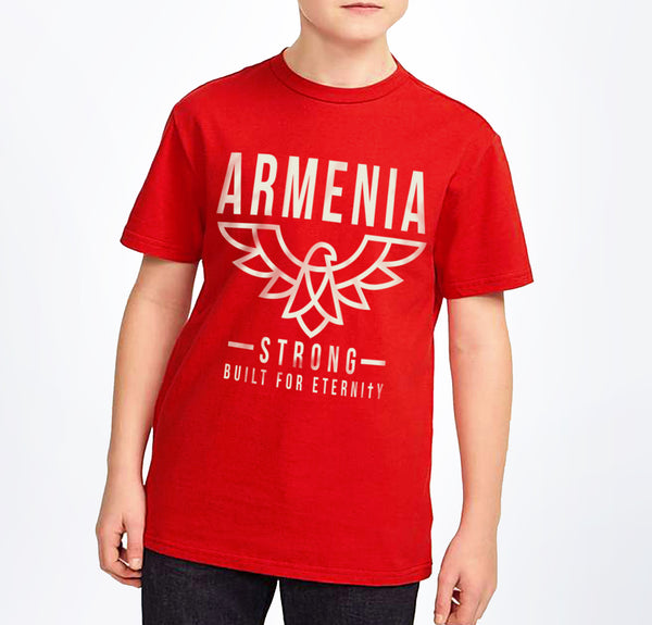 Youth Armenia Strong 'Eagle' T-Shirt