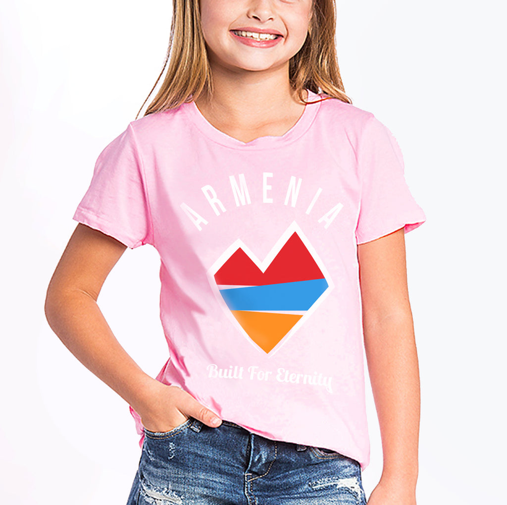 Youth Armenia Strong 'I Heart' T-Shirt
