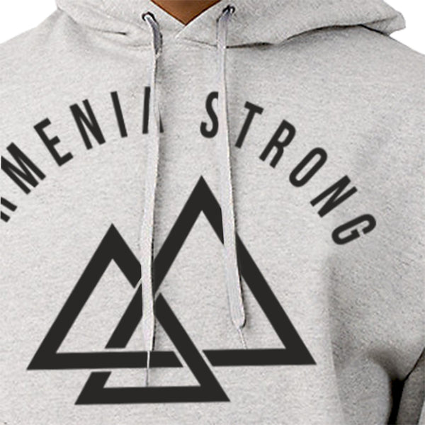Armenia Strong OFFICIAL 'Ararat' Pop-Over Hoodie