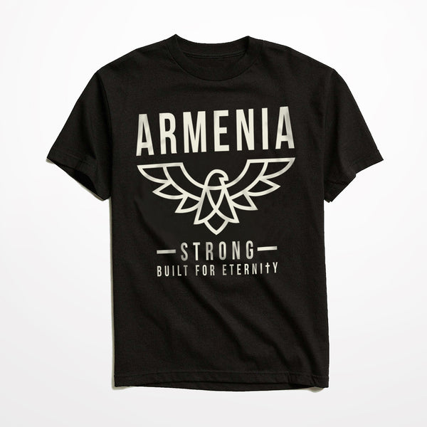 Men's Armenia Strong 'Eagle' T-Shirt