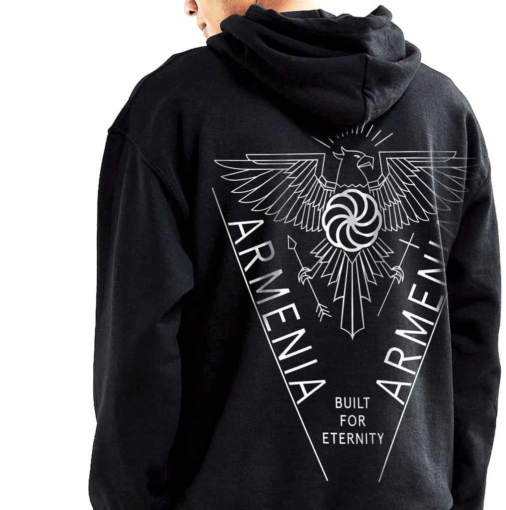 Armenia Strong OFFICIAL 'Eternity' Pop-Over Hoodie