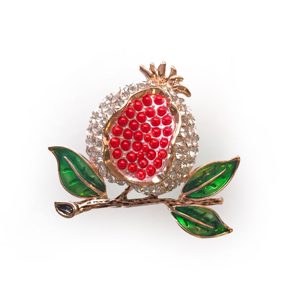 Pomegranate Brooch/ Pin