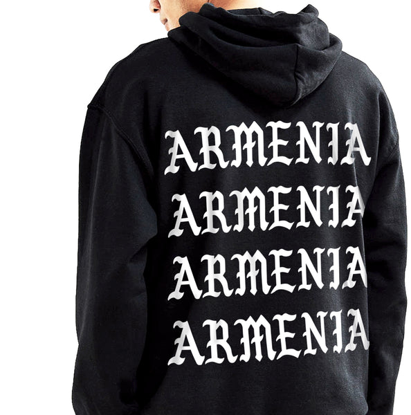 Armenia Strong OFFICIAL 'Armenia Movement' Pop-Over Hoodie