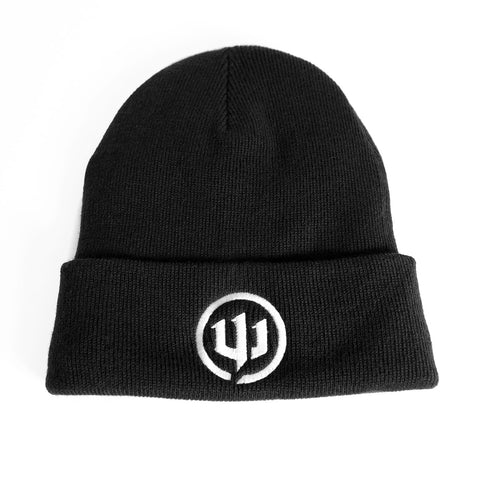 Beanie - Black, Lined with Fleece