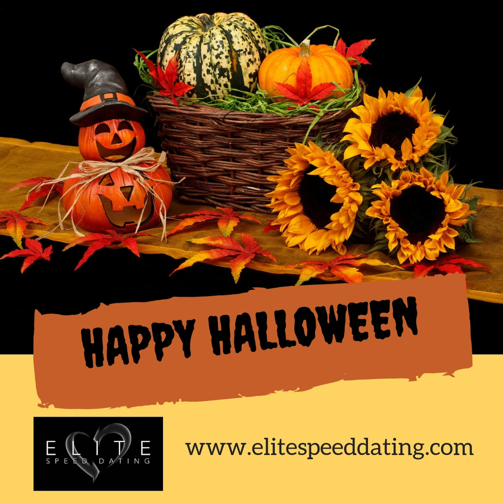 Happy Halloween from Elite Speed Dating!
