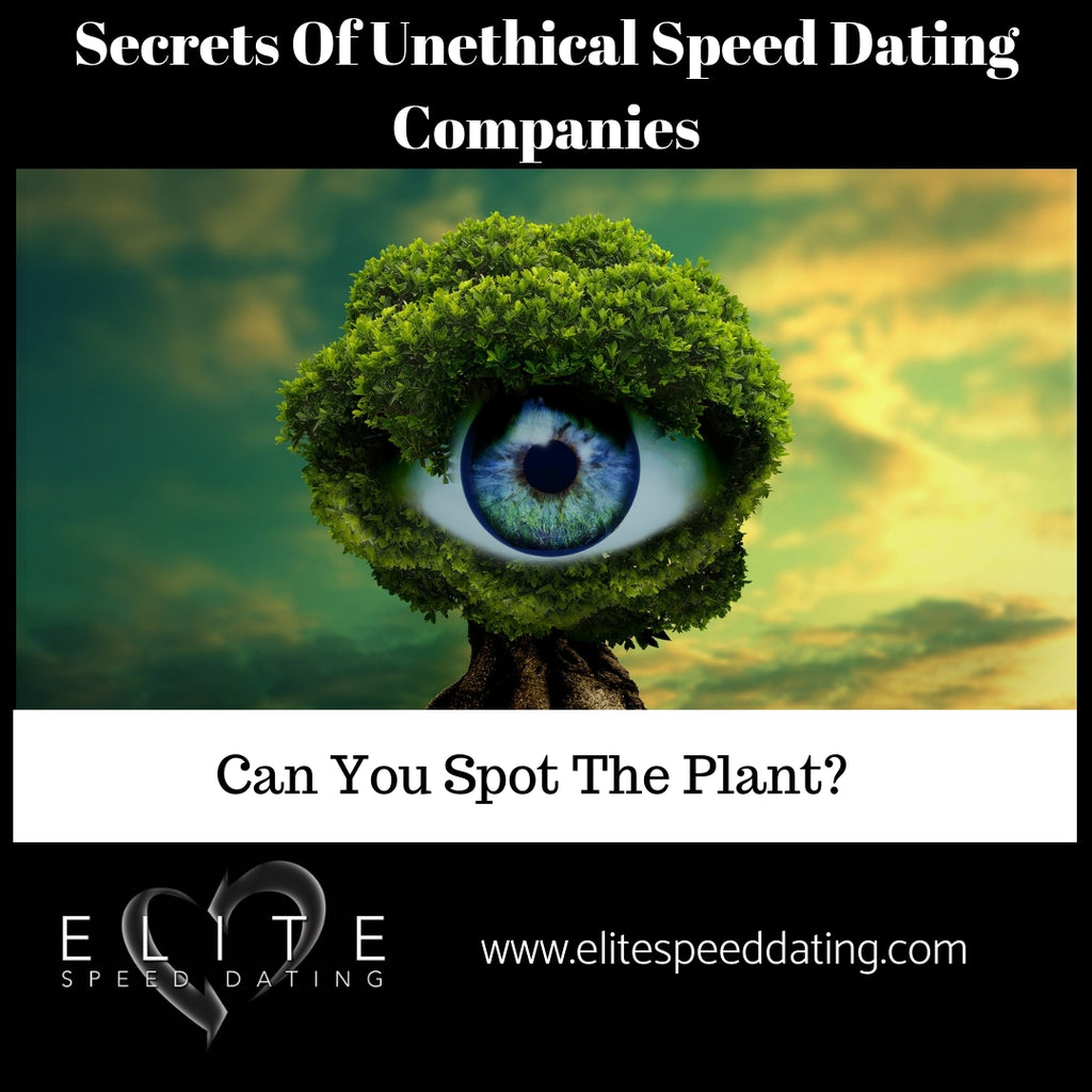 Secrets Of Unethical Speed Dating Companies