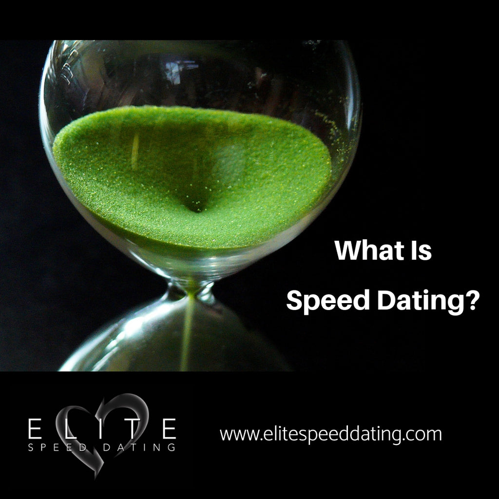 What is Speed Dating?