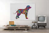 Irısh Water Spaniel Dog Watercolor Print Pet Gift Pet Dog Love Puppy Friend Dog Poster Dog Art Dog Wall Art Doglover Gift Animal Poster-1439 - CocoMilla