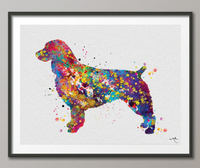 Boykin Spaniel Watercolor Print Dog Print Pet Gift Dog Love Puppy Friend Dog Poster Dog Art Customizable Animal Pet Poster Dog Poster-503 - CocoMilla