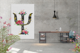 Psychology Symbol Floral Watercolor Print Psychiatry Wall Art Psychotherapist Psychologist Gift Medical Art Clinic Office Decor Flowers-1345 - CocoMilla