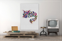 Cheshire Cat Alice in Wonderland Watercolor Print Gift For Kids Teen Decor Nursery Wall Art Bedroom Wall Decor Home Decor Alice Art-229 - CocoMilla