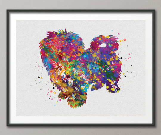 Maltese Dog Art Watercolor Print Pet Gift Dog Love Friend Dog Maltese Poster Puppy Gift Dog Art Wall Art Doglovers Gift Dog Print-1458 - CocoMilla