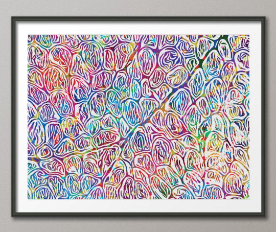 Human Skeletal Muscle Histology Healty Watercolor Print Science Art Normal Histology Biology Art Medical Art Human Anatomy Clinic Decor-431 - CocoMilla