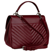 Burgundy Belle bag maxi