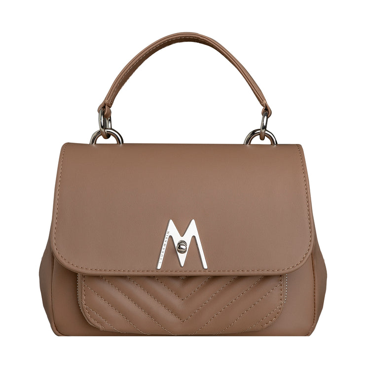 Warm beige Belle bag mini