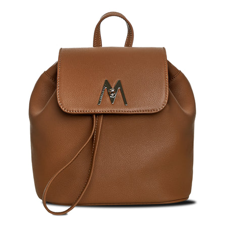M backpack cognac
