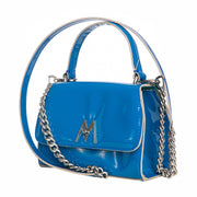 Neon blue Grace mini