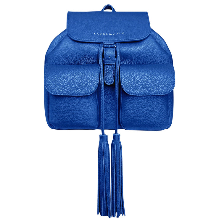Facebook blue Fringe backpack
