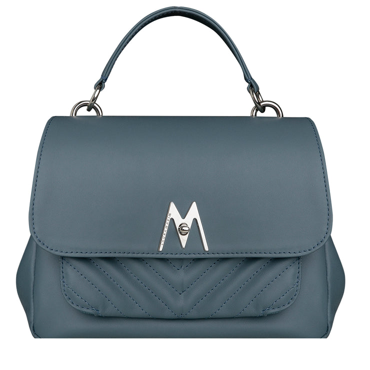 Mineral blue Belle bag maxi