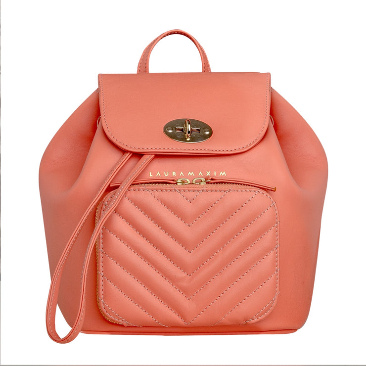 Living coral Belle backpack