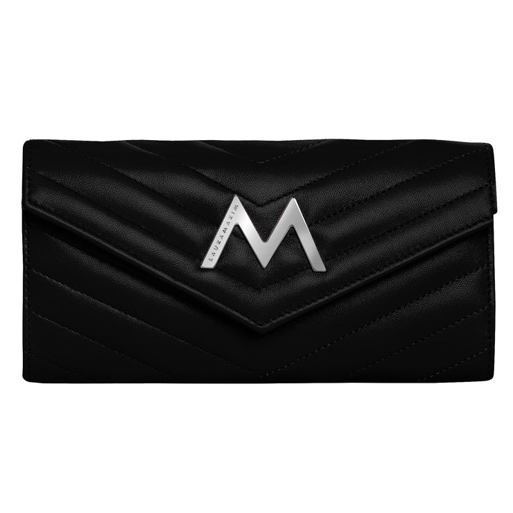 M wallet continental black S
