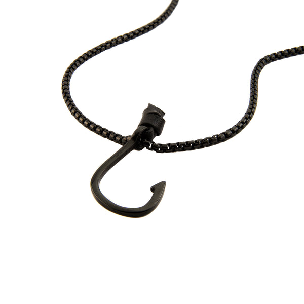 Black Hooked Chain