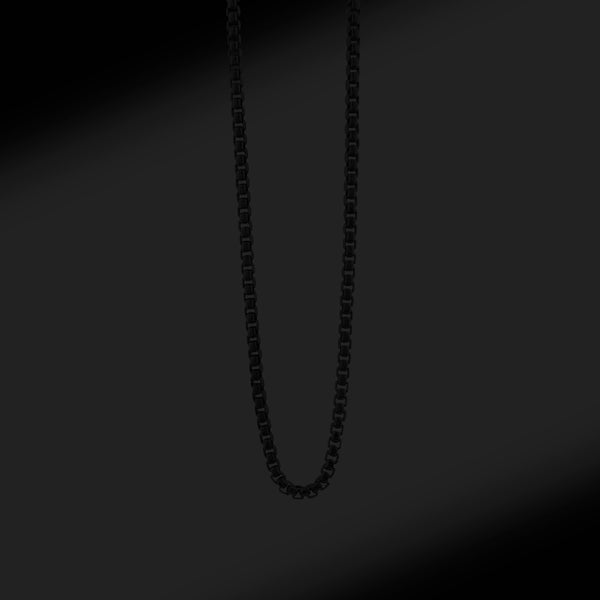 Blacked-out Silver Chain