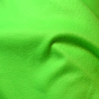 Lime Shock Fleece Fabric