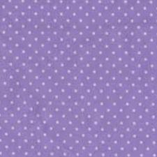 Deep Lilac Spot Cotton