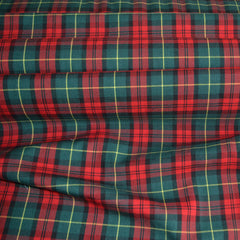Cotton Tartan Red+Green