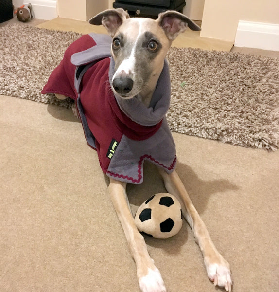 "Whippet Chi Chi Double Fleece ""Twin Top"" Coat"
