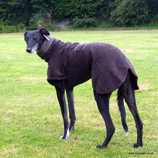 Greyhound Classic Single Fleece Coat Cotton Lined -  - 2