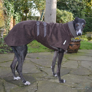 Whippet Single Fleece Coat Cotton Lined