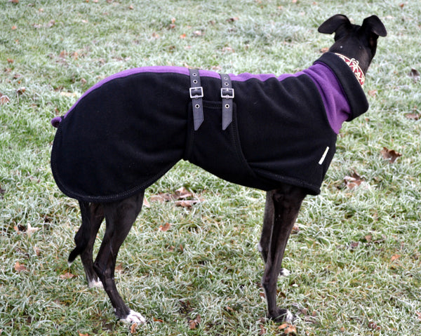 Whippet Chi Chi Double Fleece Twin Top Coat