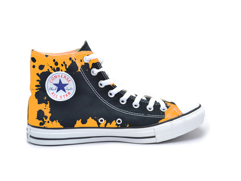 """Fight On"" Paint Splatter #1 Chucks"