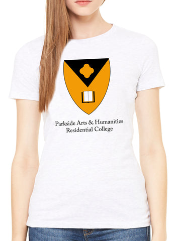 Parkside Arts & Humanities Residential College - Womens Premium Tee