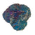 Peacock Ore tumble stone - purple blue green