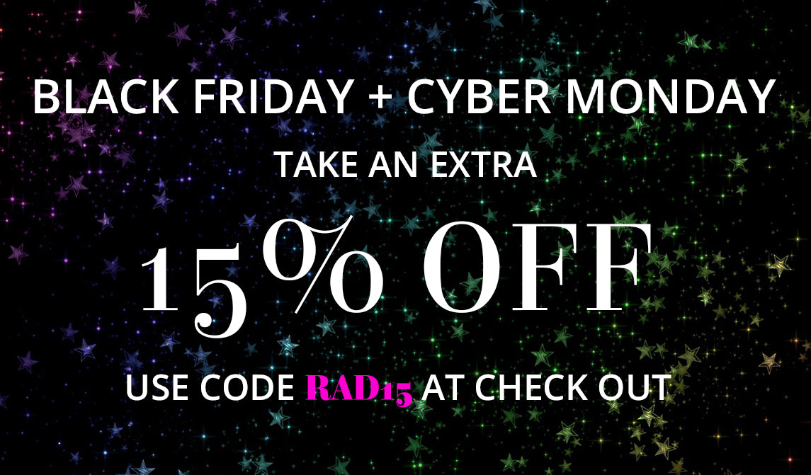 Two Things: 15% off Everything + FREE Gift!