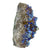 Cobalt Blue Aura Amethyst Crystal Cluster - Sparkle Rock Pop