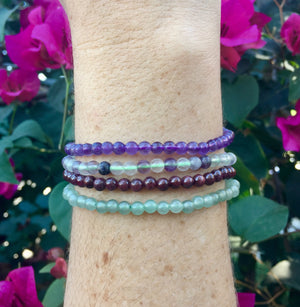 Amethyst Bracelet - Sparkle Rock Pop