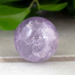 Amethyst Crystal Sphere - Sparkle Rock Pop