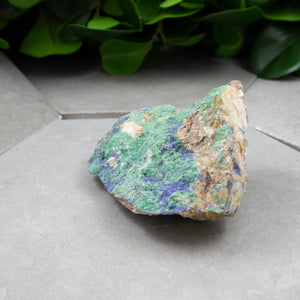 Azurite Druze - Raw Stone - Sparkle Rock Pop