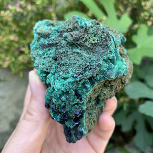 Azurite - Raw Stone - Sparkle Rock Pop