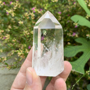 "Quartz Point - 2"" high - Sparkle Rock Pop"